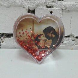 Сувениры - Шар водяной в форме сердца, под полиграфическую…, 0