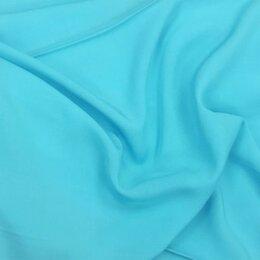 Ткани - Ткань штапель (цвет голубой и персиковый), 0