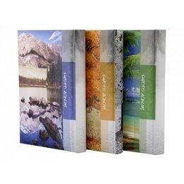 Фотоальбомы - Ф/а 10х15 см, 300 фото (100 стр.), бумажные…, 0