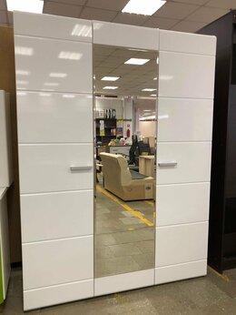 Шкафы, стенки, гарнитуры - Шкаф 3-х СТВ Симба белый глянец 💥 0462💥, 0