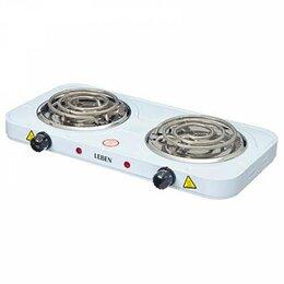 Плиты и варочные панели - Плитка электрическая двухконфорочная 2000вт, 0