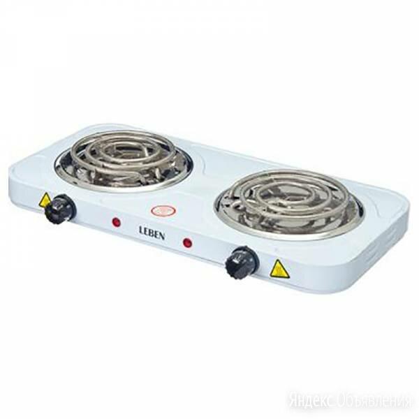 Плитка электрическая двухконфорочная 2000вт по цене 1450₽ - Керамическая плитка, фото 0