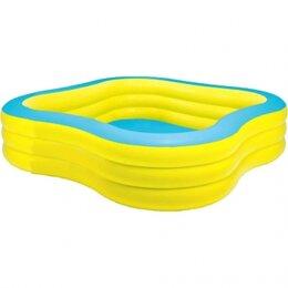 Бассейны - Бассейн надувной для детей 229Х229Х56см, 0