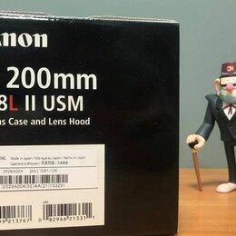 Объективы - Объектив Canon EF 200mm f/2.8L II USM, 0