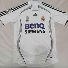 Футболки и майки - Футболка Adidas Real Madrid белая, 0