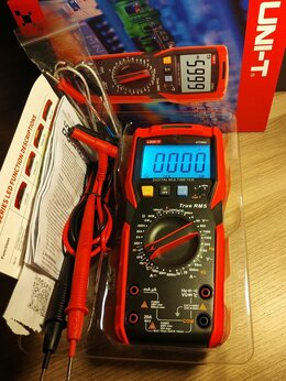Измерительные инструменты и приборы - Мультиметр Unit UT89X оригинал, 0