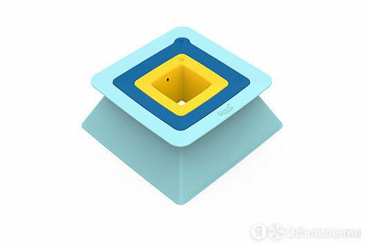 Формочки для 3-уровневых пирамид из песка и снега Quut Pira по цене 1095₽ - Развивающие игрушки, фото 0