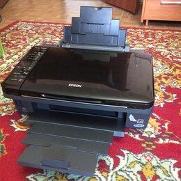 Принтеры, сканеры и МФУ - Epson SX420W с Wi-Fi отличное состояние заправлен, 0