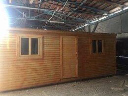 Готовые строения - Бытовка деревянная Распашонка 6м А-466, 0