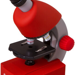 Микроскопы - Микроскоп Bresser Junior 40x-640x, красный, 0
