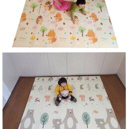 Развивающие коврики - Новый напольный коврик 200х150см (лесные жители), 0