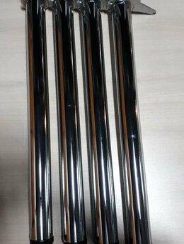 Комплектующие - Ножки для стола, хромированные,   комплект 4шт,…, 0
