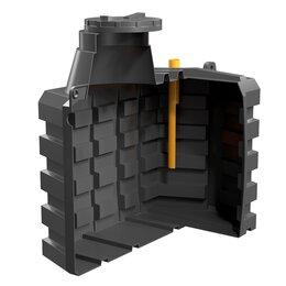 Септики - Емкость пластиковая  для канализации 2,5 куба, 0