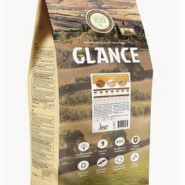 Лакомства  - Glance, корм сухой для взрослых кошек с курицей 20 кг, 0