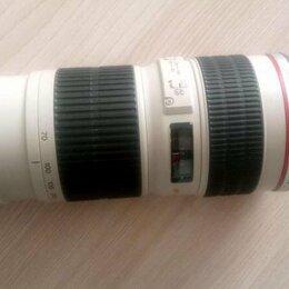 Объективы - Canon 70-200, 0