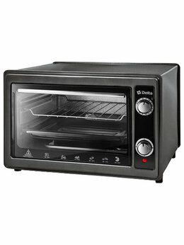 Мини-печи, ростеры - Мини-печь Delta D-0122 черный, 0