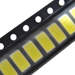 Запчасти к аудио- и видеотехнике - SMD Светодиод 5730 Теплый белый (2800-3000K) 100 шт., 0