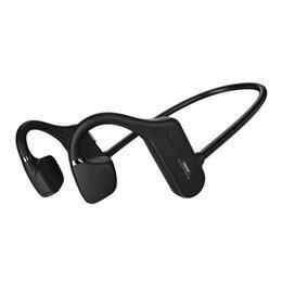 Наушники и Bluetooth-гарнитуры - Наушники с костной проводимостью Bluetooth REMAX RB-S32 черный, 0