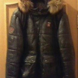 Куртки - Куртка зимняя кожаная OCHNIK, 0