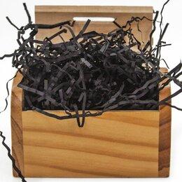 Подарочная упаковка - Наполнитель бумажный Чёрный, 50гр, 0