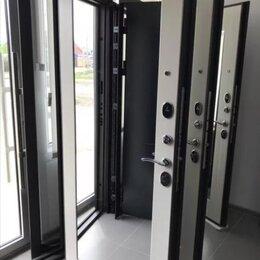Входные двери - РАСПРОДАЖА. Дверь Металл 100 мм Монарх зеркалом. РОССИЯ , 0