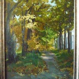 """Картины, постеры, гобелены, панно - Картина """"Осень. Парк Белинского"""", 0"""
