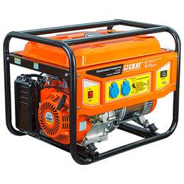 Электрогенераторы и станции - Бензиновый генератор 5 кВт СКАТ УГБ-5000, 0