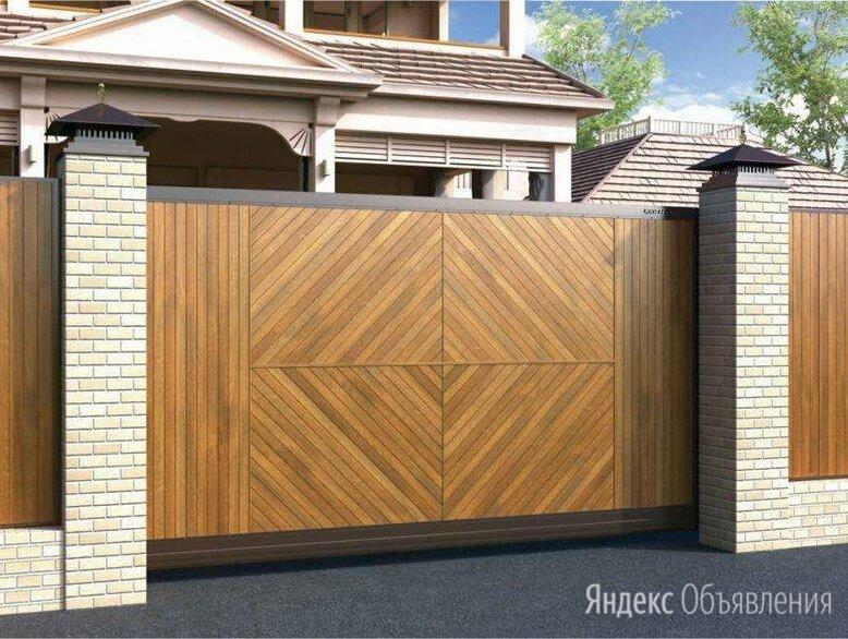 Откатные ворота по цене 187000₽ - Заборы, ворота и элементы, фото 0