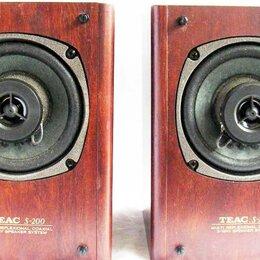 Комплекты акустики - Teac S-200 - 2-х полосная полочная акустика, 80Вт, Япония, 0