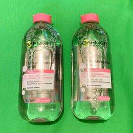 Очищение и снятие макияжа - Мицеллярная вода Garnier 3 в 1 (2 штуки) новые, 0