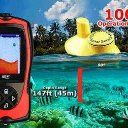 Эхолоты и комплектующие - Эхолот беспроводной Lucky 1108-1CW цветной новый, 0