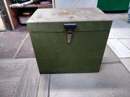 Ящики для инструментов - Ящик железный для инструмента, 0