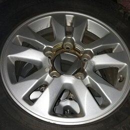 Шины, диски и комплектующие - Диски Toyota LC 100/200     275/65/17, 0