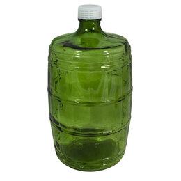 Этикетки, бутылки и пробки - Бутыль 10 л КАЗАЦКИЙ (зелёный), 0