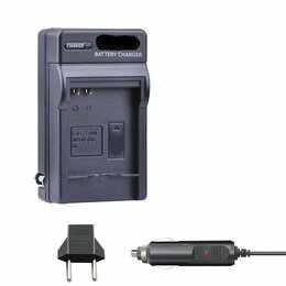 Аккумуляторы и зарядные устройства - NB-6L Зарядное устройство с автоадаптером для аккумулятора Canon, 0