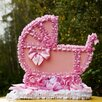 Прокат. Украшения машины для встречи из роддома, колясочка, розовая по цене 600₽ - Автокресла, фото 1