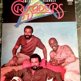 Видеофильмы - VHD диск – CRUSADERS – Midnight Triangle – 1984 – Victor – Japan – NM! , 0