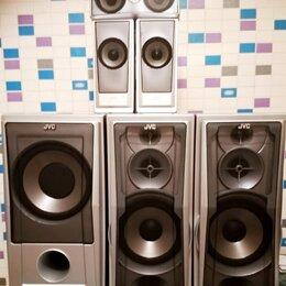 Комплекты акустики - JVC CA-DXT7 (Victor) – 5.1 комплект акустики, Bass Reflex, 150Вт , 0