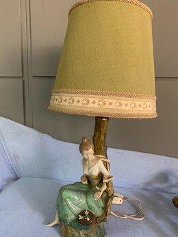 Настольные лампы и светильники - Лампа настольная Винтаж Франция , 0