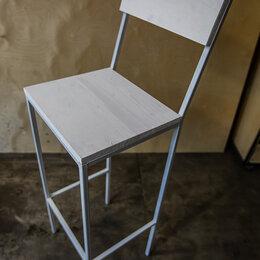 Стулья, табуретки - Белый барный стул, 0