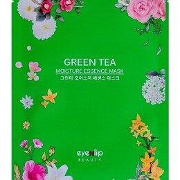Маски - Тканевая маска Eyenlip Green Tea, 0