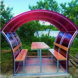 Комплекты садовой мебели - Беседка садовая из поликарбоната, 0