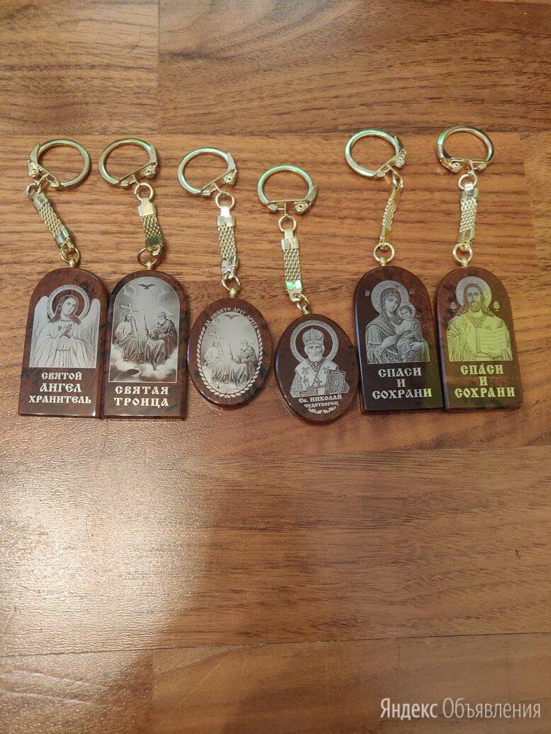 Брелки-иконы для водителя из обсидиана по цене 200₽ - Брелоки и ключницы, фото 0
