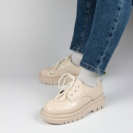 Балетки, туфли - Полуботинки Karolina (W36-BE) , 0