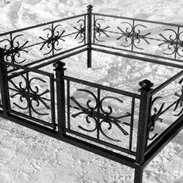 Ритуальные товары - Кованая оградка №33 - изготовим по вашим размерам, 0