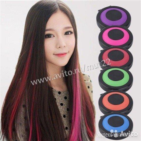 Мелки для волос 6 цветов по цене 450₽ - Окрашивание, фото 0