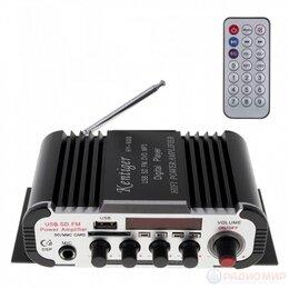 Усилители и ресиверы - Усилитель звука HY600 Kentiger с эквалайзером, 0