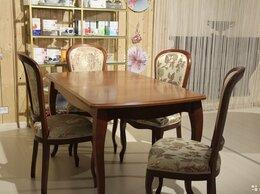 Столы и столики - Стол Глория + 4 стула, цвет Теона, 0