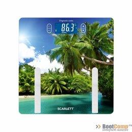 Напольные весы - Весы напольные SCARLETT SC-BS33ED12, 0