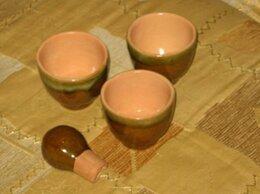 Рюмки и стопки - Советские глиняные стопки, 0